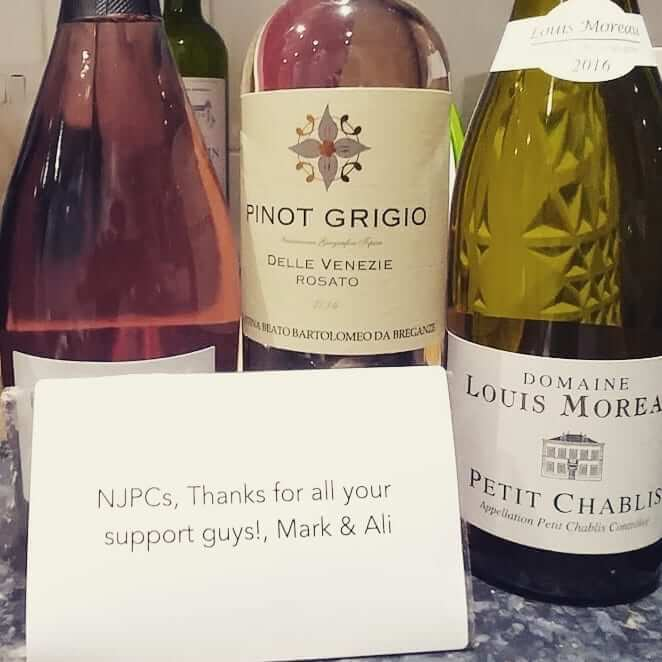 Delighted with a delicious case of wine from some very happy customers today – thank you @goughothelawman