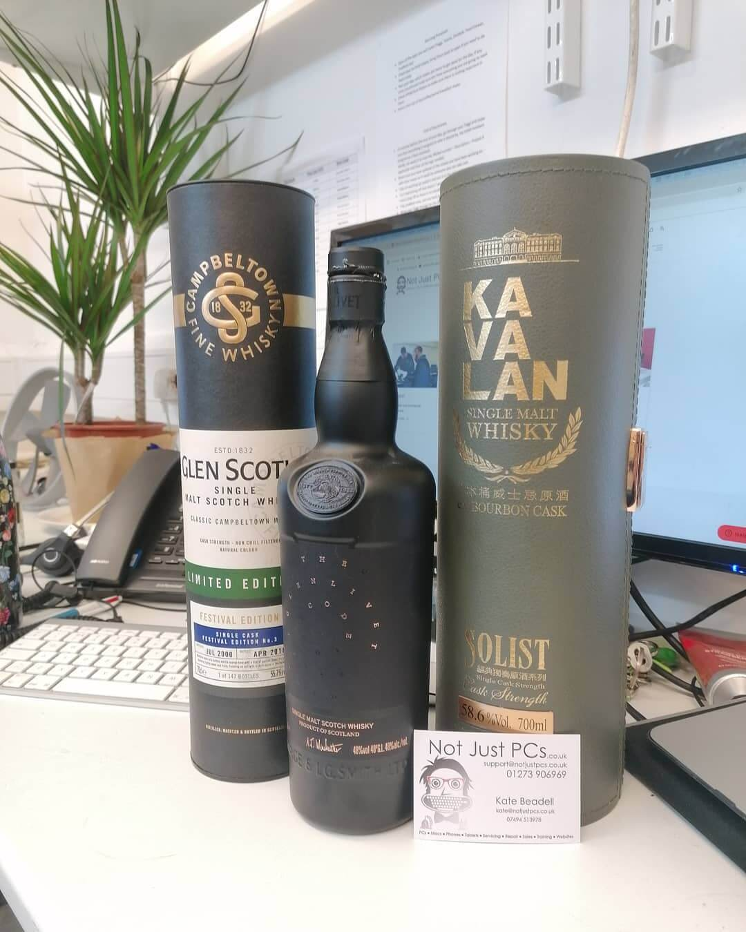 Always appreciated when we are gifted some lovely whisky at njpc